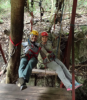 Gilberto and Regina Sacilotti - Abismo Anhumas - Bonito, Mato Grosso do Sul - Photo by Luxury Experience