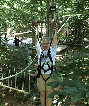 Luxury Experience - Edward F.. Nesta - at Adventure Park at the Discovery Museum - photo by Luxury Experience