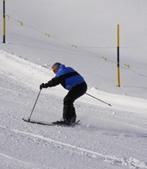 Skiing in Arosa, Switzerland - Edward F. Nesta