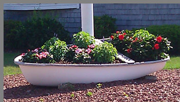 Nautical Theme Gardens - Old Saybrook views - Photo by Luxury Experience