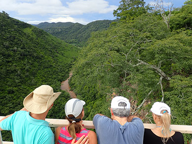 Luxury Experience admiring the views at Boca da Onca - Mato Grosso do Sul, Brazil - photo by Luxury Experience