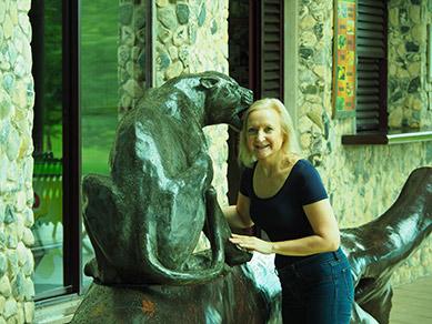 Debra C. Argen at Boca da Onca - Mato Grosso do Sul, Brazil - photo by Luxury Experience