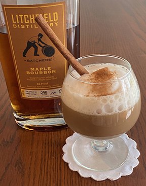 Luxury Experience Maple Bourbon Chai Latte - photo by Luxury Experience