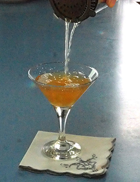 Luxury Experience - Maple Cotton Candy Martini - photo by Luxury Experience