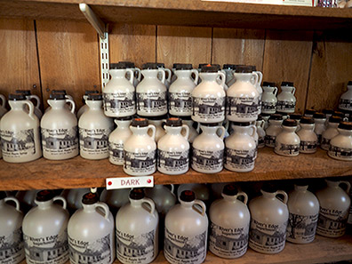 Maple Syrup Grades - River's Edge Sugarhouse - photo by Luxury Experience