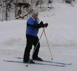 Cross-country skiing - Edward cross-country sking - Photo by Luxury Experience
