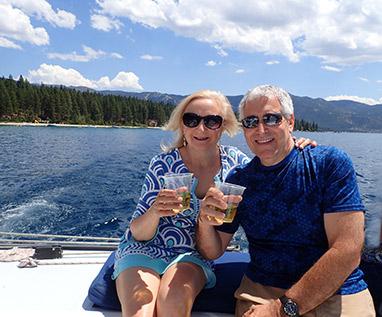 Debra C. Argen and Edward F. Nesta - Lake Tahoe - Photo by Luxury Experience