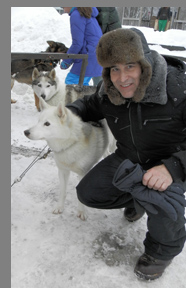 Siberian Husky Belle and Edward Nesta - photo by Luxury Experience
