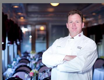 John Evans - Director Food Servie - Essex Clipper Dinner Train