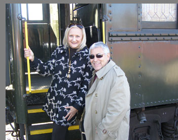 Essex Steam Train - Debra C Argen, Edward F. Nesta - Essex, CT, USA - photo by Luxury Experience