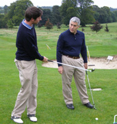 Thomas O'Neill instructing Edward F. Nesta