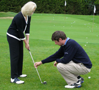 Thomas O'Neill showing Debra C. Argen Club Position