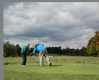Edward F. Nesta playing Shenendoah Golf Course, Verona, NY, USA - photo by Luxury Experience