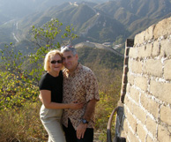 The Great Wall of China - walking the Great Wall