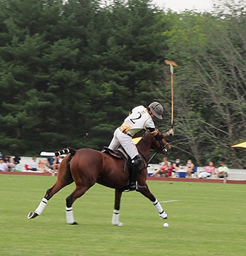 Greenwich Polo Club Game Action - photo by Luxury Experience