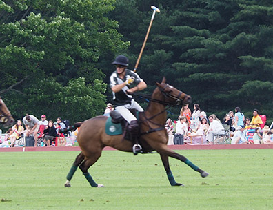 Greenwich Polo Club - Pablo Llorente, Jr  Game Action - photo by Luxury Experience