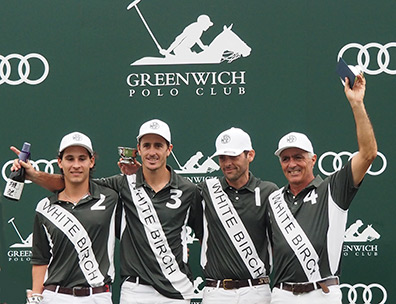 Greenwich Polo Club - White Birch Farm the winners - photo by Luxury Experience