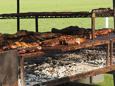 Argentine Asado -  Greenwich Polo Club - photo by Luxury Experience