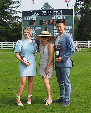 The Macallan Team, Debra C. Argen -  Greenwich Polo Club - photo by Luxury Experience