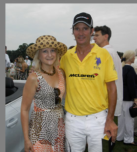 East Coast Open Polo - Nick Manifold, Debra C. Argen - photo by Luxury Experience