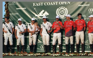 East Coast Open Polo - Team White Birch, Team Audi  - photo by Luxury Experience
