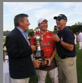 East Coast Open Polo - Wally Ganzi, Marc Ganzi , CukkerTV  - photo by Luxury Experience