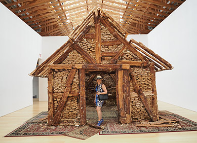Breadhouse art at The Brant Foundation Art Center - Photo by luxury Eperience