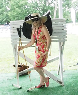 Debra C. Argen at Greenwich Polo  - USPA Monty Waterbury 2019 - photo by Luxury Experience