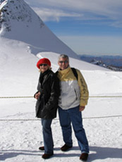 Jungfraujoch, Switzerland - Debra C. Argen and Edward F. Nesta