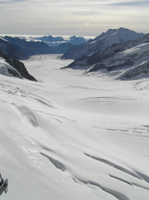 Jungfraujoch, Switzerland - Eternal Snow