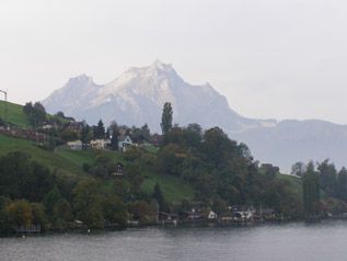 Mount Pilatus, Switzerland -  viewed from Lake Lucerne