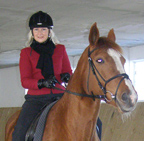 Horseback Riding - Debra on Lorecka at Gut Vorder Bollhagen, Heiligendamm, Germany