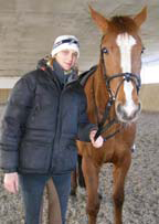 Nadya the Instructor with Lorecka at Gut Vorder Bollhagen