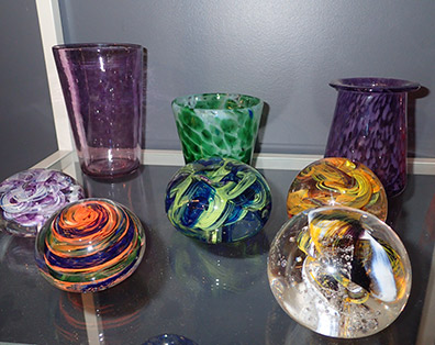 The Hotspot Glass Studio products - photo by Luxury Experience