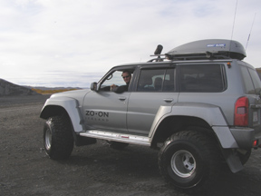 Lulli and his Super Jeep of Iceland Rovers, Reykjavik, Iceland - Photo by Luxury Experience