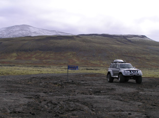 Lulli and his Super Jeep's Off-Road Adventure in Iceland - Photo by Luxury Experience