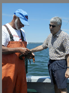 Wes Penney, Edward Nesta Lobster Excursion - Boston Harbor - Photo by Luxury Experience