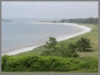 Inviting Beaches - Prouts Neck, Maine- photo by Luxury Experience