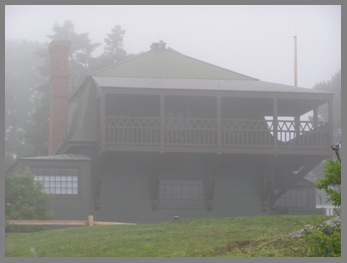 Winslow Homer Studio in fog - photo by Luxury Experience