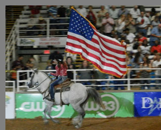 Rodeo Rider Opening evening - Mesquite Rodeo - Mesquite, Texas - photo by Luxury Experience