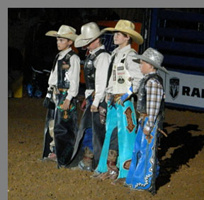 Future Cowboys - Mesquite Rodeo - Mesquite, Texas - photo by Luxury Experience