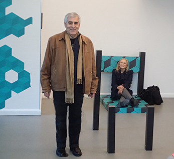 Edward Nesta, Debra Argen - Museum of Illusion- photo by Luxury Experience