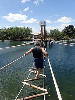 Edward F. Nesta on Multi-Advenrure Water Circuit - Nascente Azul - Boniti, Mato Grosso do Sul, Brazil - photo by Luxury Experience