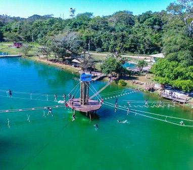 Multi-Adventure Water Circuit - Nascente Azul - Boniti, Mato Grosso do Sul, Brazil