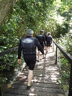 Luxury Experience Team Trek to Snorkel - Nascente Azul - Boniti, Mato Grosso do Sul, Brazil - photo by Luxury Experience