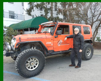 Edward F. Nesta - off road driving  - photo by Luxury Experience