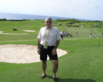 Edward F. Nesta at The Mid Ocean Club for the PGA Grand Slam of Golf Bermuda