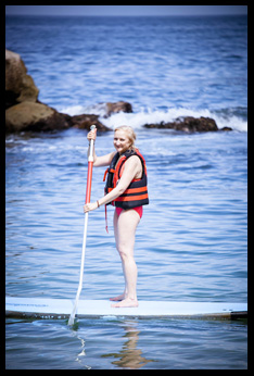 Paddleboarding in Puerto Vallarta -Debra Argen- photo by Luxury Experience