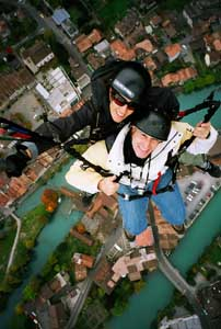 Paragliding with Twin Paragliding, Interlaken - Ed and Nicole  - photo by Luxury Experience