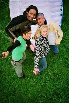 Pietschly, Ed, Nicole, Debra   - photo by Luxury Experience